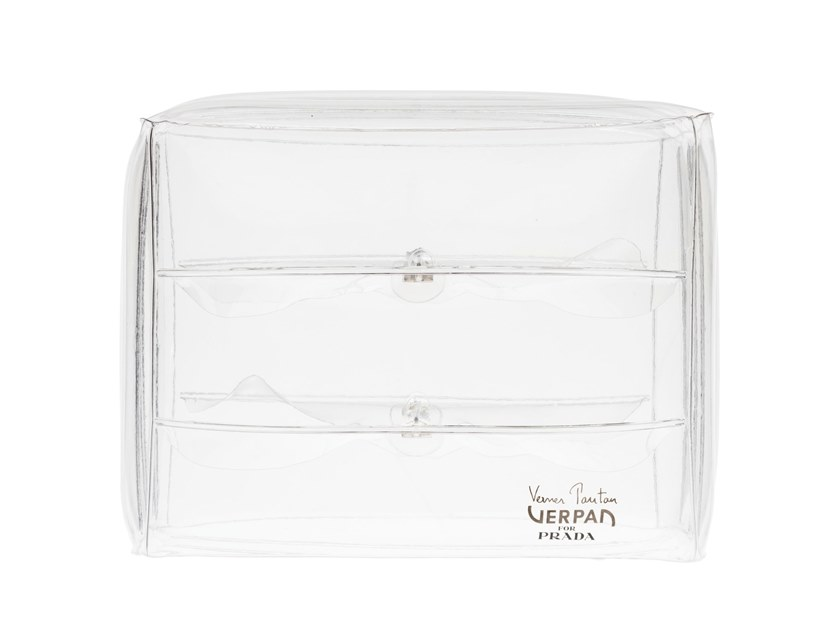 Inflatable pouf INFLATABLE STOOL by Verpan
