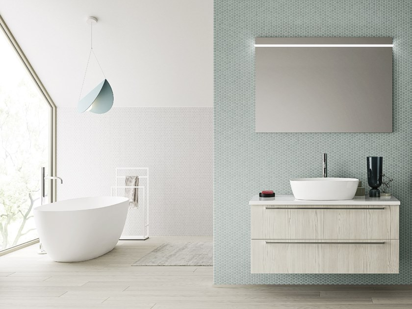 Bathroom furniture set INKA 11 by Arbi Arredobagno