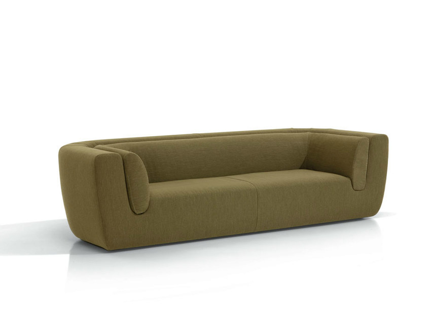 3 seater fabric sofa with removable cover INNTIL | 3 seater sofa by MissoniHome