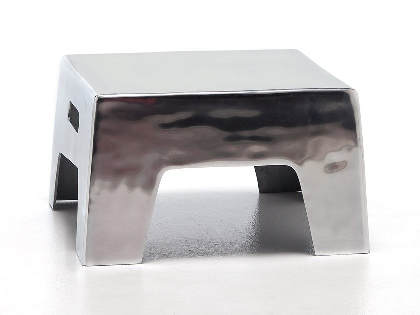 Aluminium stool / coffee table GERVASONI - INOUT 45 IN by Archiproducts.com