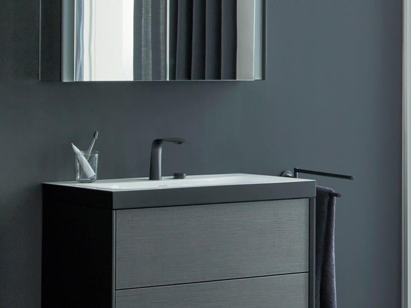 Inset rectangular ceramic washbasin VIU | Inset washbasin by Duravit