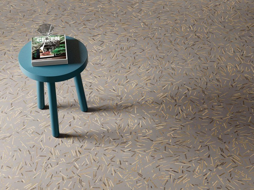 Porcelain stoneware wall/floor tiles with resin effect INSIDEART REWOOD DARK by CERAMICA SANT'AGOSTINO