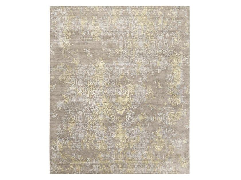 Handmade custom rug INSPIRATIONS BROWN BEIGE by Thibault Van Renne