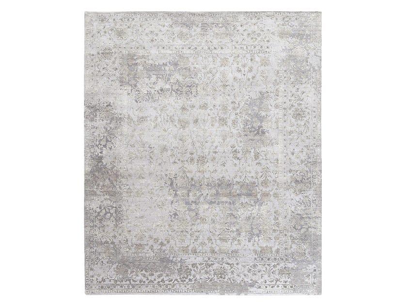 Handmade custom rug INSPIRATIONS T7A GREYS MULTI by Thibault Van Renne