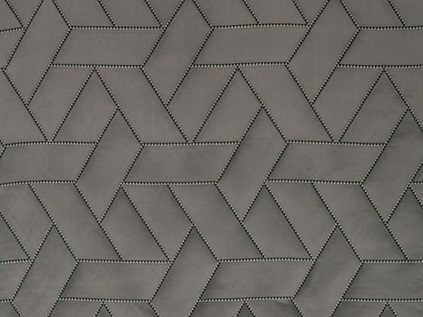 Jacquard silk fabric for curtains INTARSIATO by Dedar