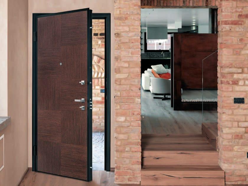 Pannello di rivestimento per porte blindate INTARSIO by Alias Security Doors