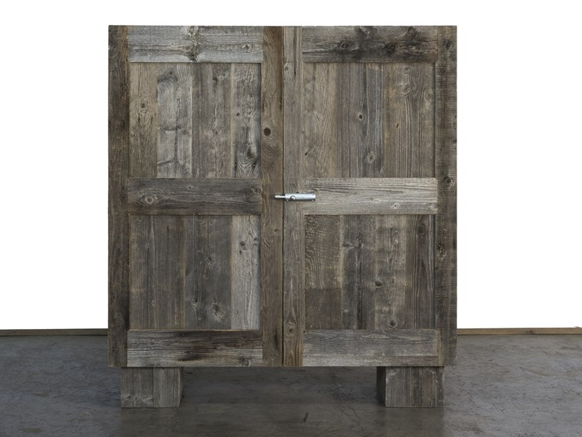 Reclaimed wood highboard INTEMPERIE | Spruce highboard by A&B Rosa dei Legni
