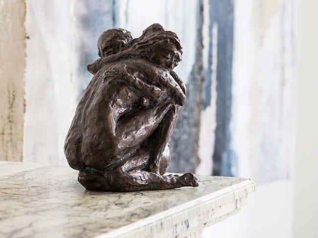 Scultura in bronzo INTENSE LOVE by Gardeco