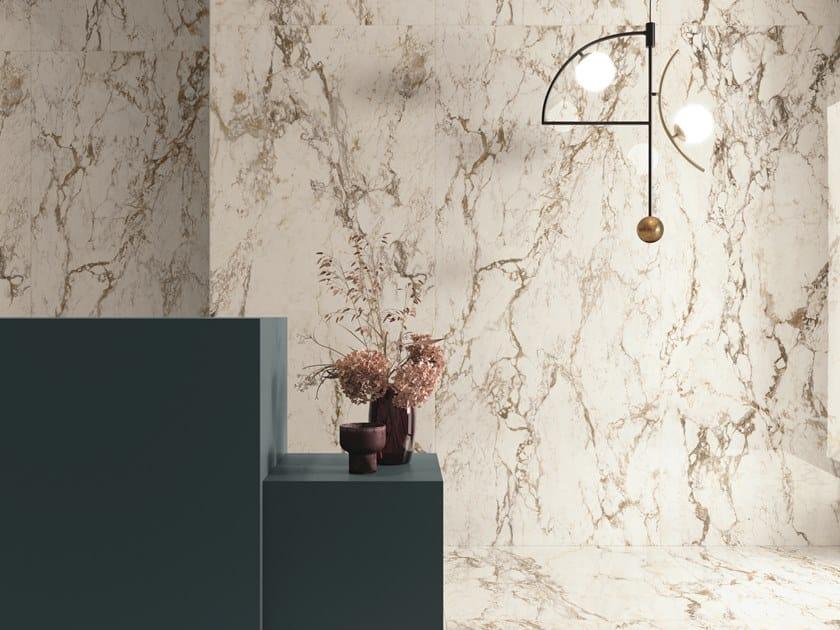 Pavimento/rivestimento in gres porcellanato effetto marmo INTERNO4 BRECCIA TORTONA by CERAMICHE KEOPE