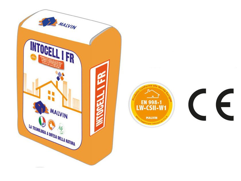 Fibre-reinforced special plaster INTOCELL I FR by malvin
