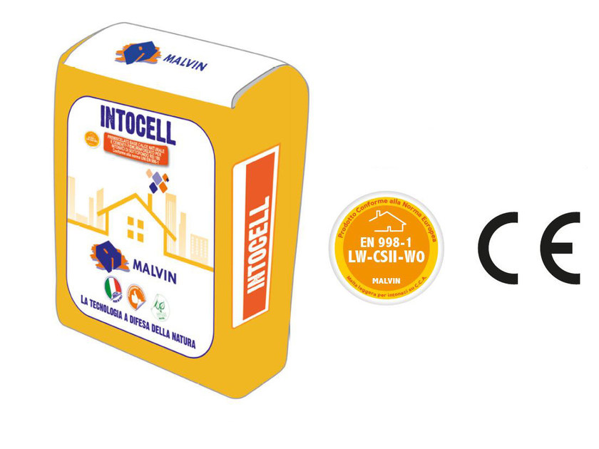Fibre-reinforced special plaster INTOCELL by malvin