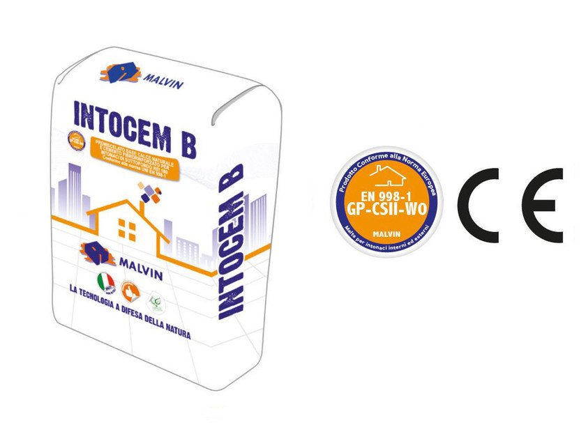 Cement plaster INTOCEM B by malvin