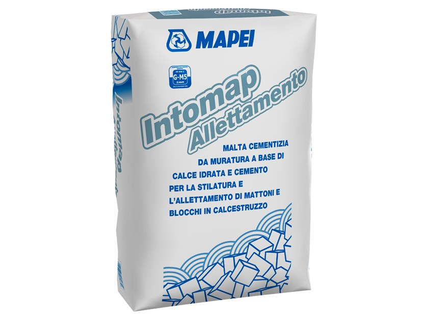 Mortar for masonry INTOMAP ALLETTAMENTO by MAPEI