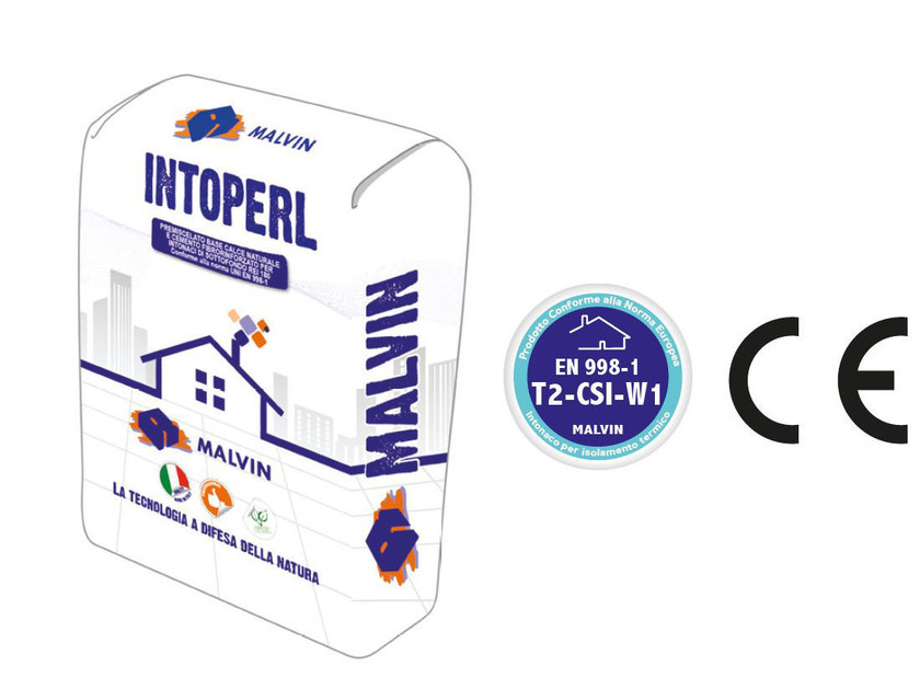 Thermal insulating plaster INTOPERL by malvin