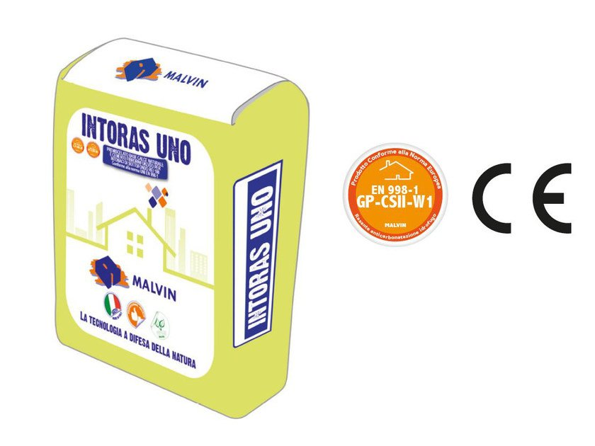 Smoothing compound INTORAS UNO by malvin