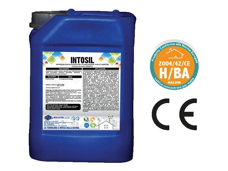 Additive for cement and concrete INTOSIL by malvin