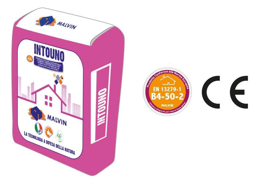 Gypsum plaster INTOUNO by malvin