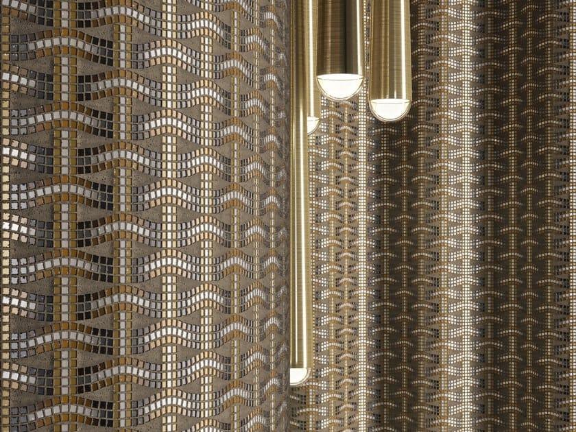 Glass mosaic INTRECCIO by Mutaforma