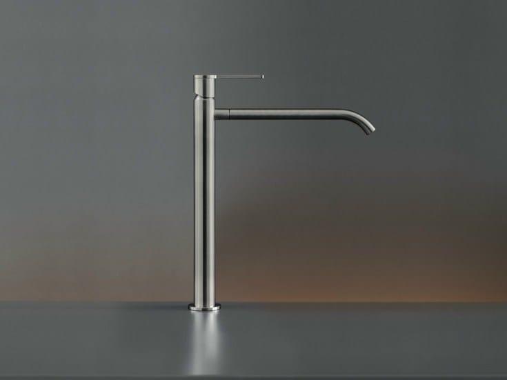 Deck mounted mixer for countertop basin INV 05 by Ceadesign