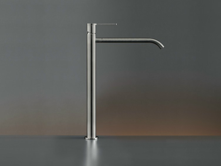 Deck mounted mixer for countertop basin INV 06 by Ceadesign