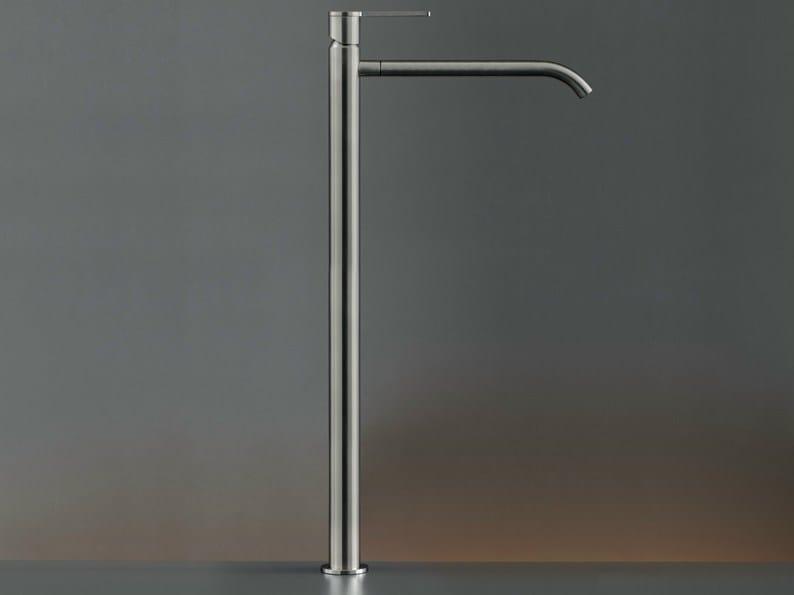 Deck mounted mixer for countertop basin INV 07 by Ceadesign