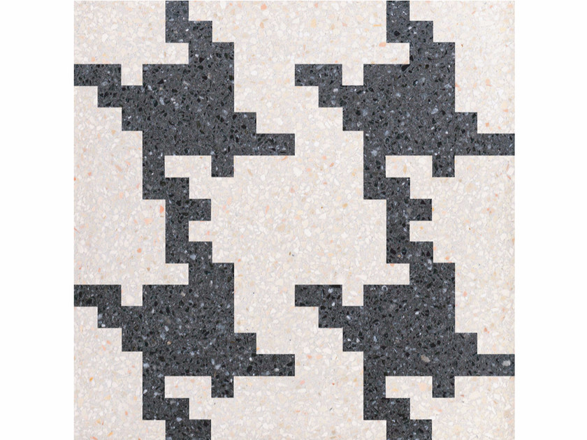 Marble grit wall/floor tiles INVADERS XL by Mipa