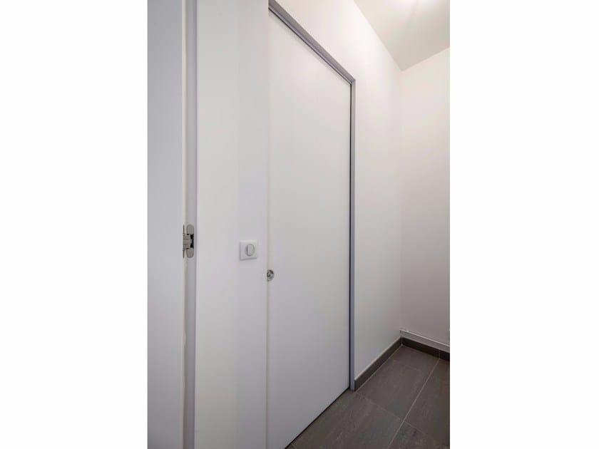 Telaio invisibile per porte scorrevoli a scomparsa argenta - Porte invisibili scorrevoli ...