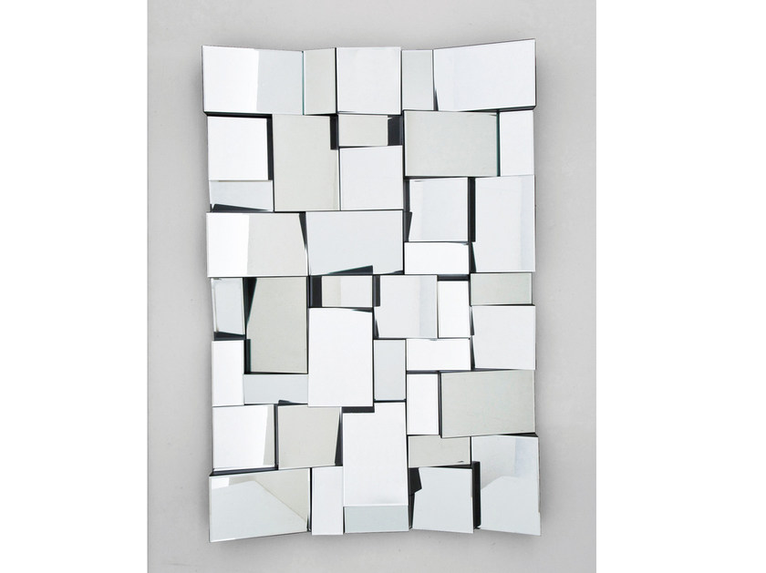 Rectangular wall-mounted mirror INVOLUTO by KARE-DESIGN