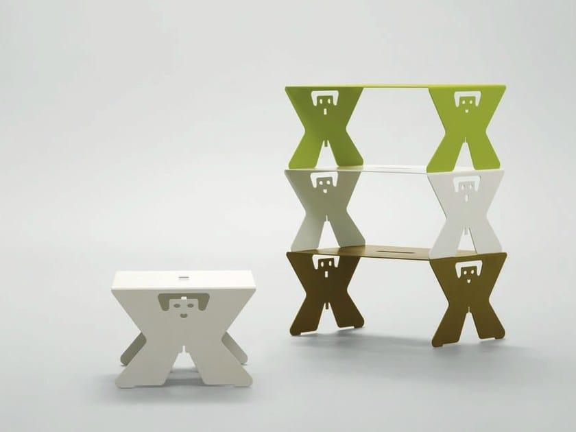 Rectangular plate tray IO/TE A LETTO by da a
