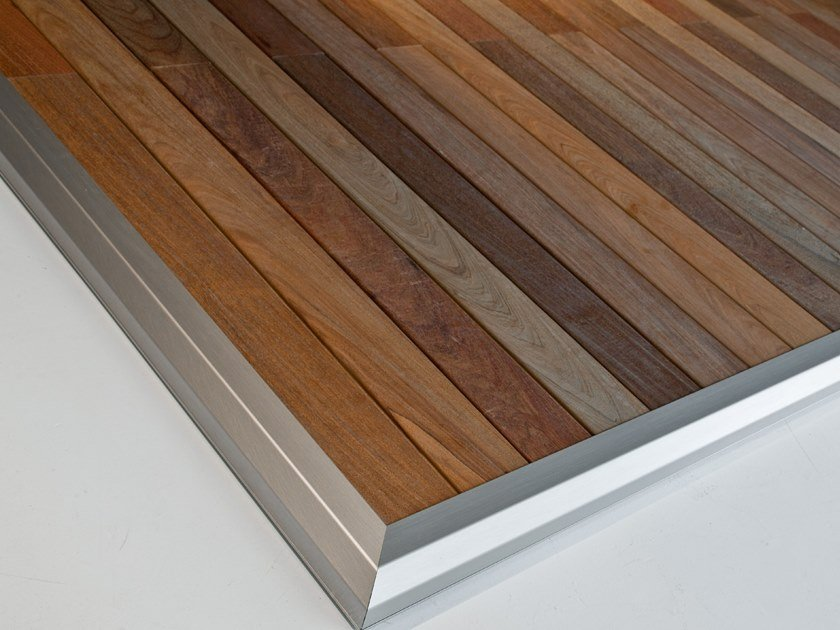 Ipe Wood Outdoor Floor Tiles Chiusure E Complementi Collection By