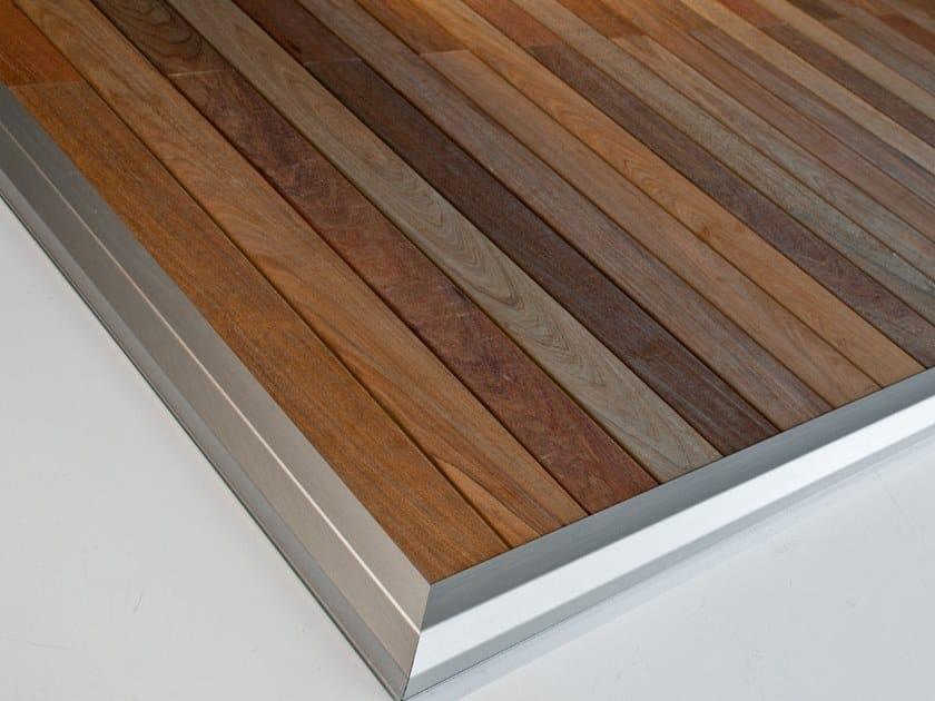Ipe wood multi-function deck Ipe wood outdoor floor tiles by Corradi