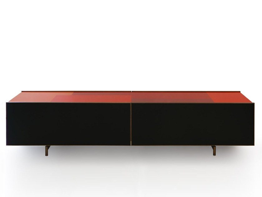 Lacquered sideboard IPERCOLORE by Porro