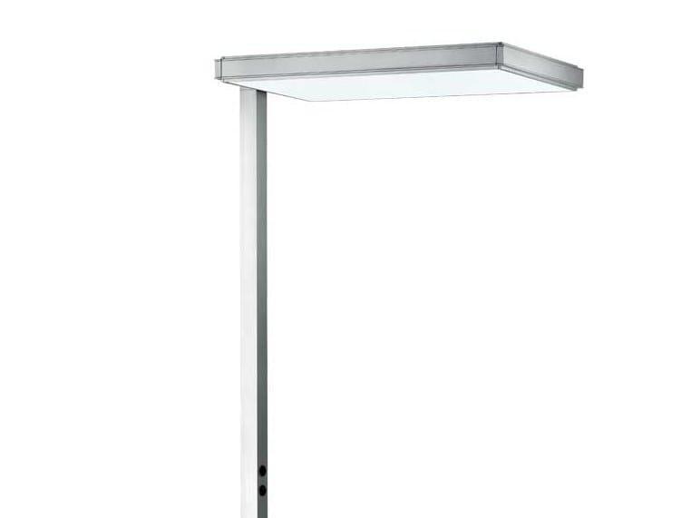 Luminária de pé LED de alumínio extrudado IPLAN | Luminária de pé by iGuzzini