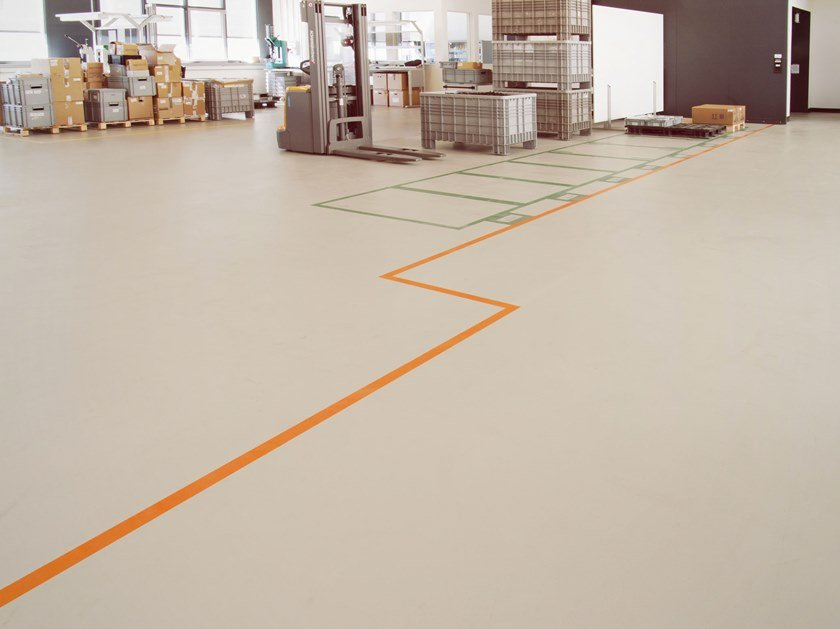 Industrial flooring IPM STRATOS by IPM Italia