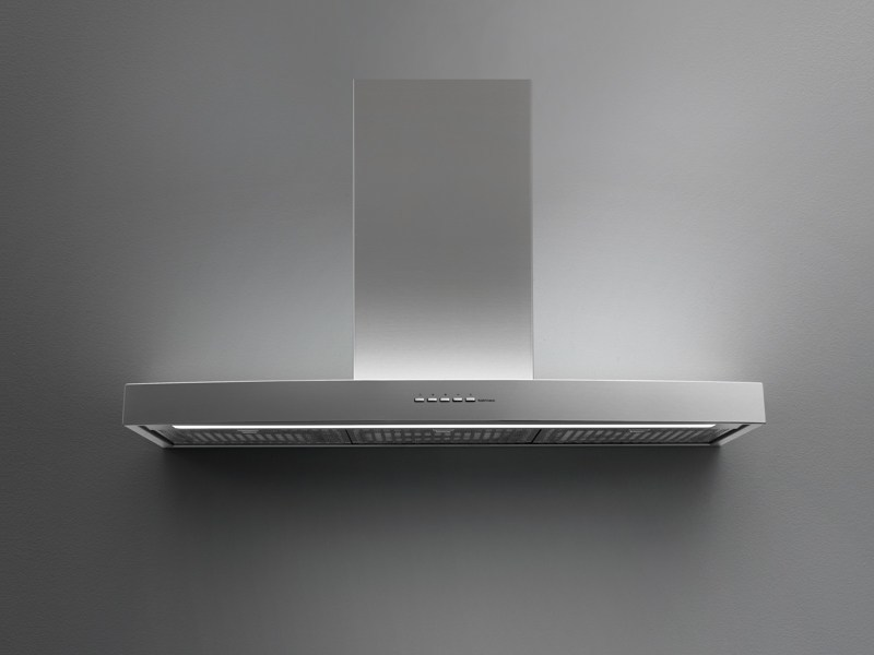 Wall-mounted stainless steel cooker hood IRIDE by Falmec