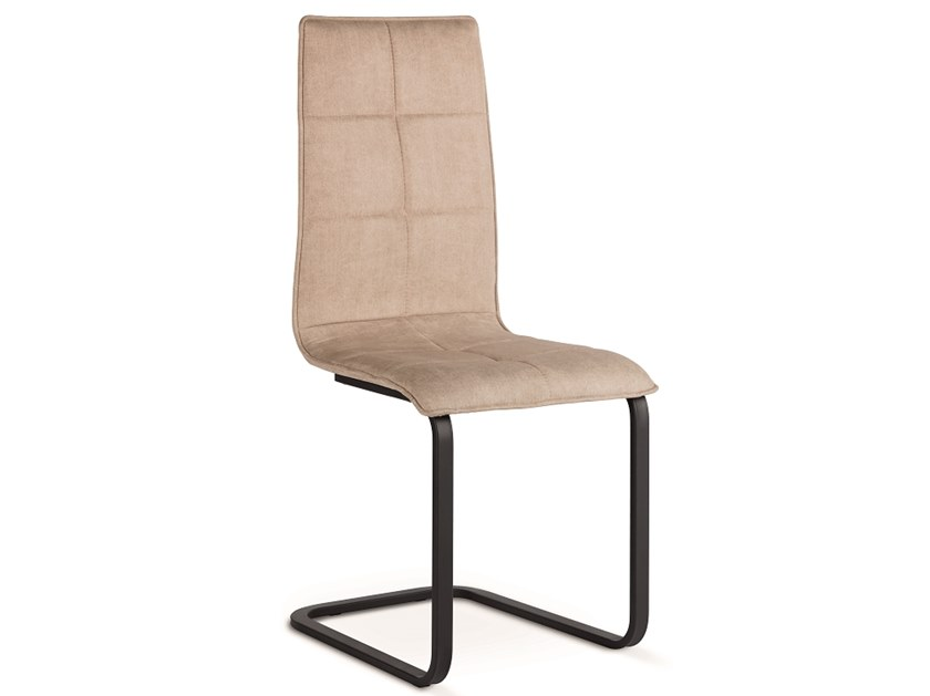 Cantilever upholstered chair IRIS | Cantilever chair by Natisa