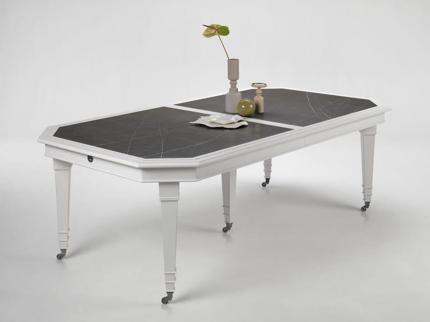 Extending rectangular table IRIS by L'Ottocento