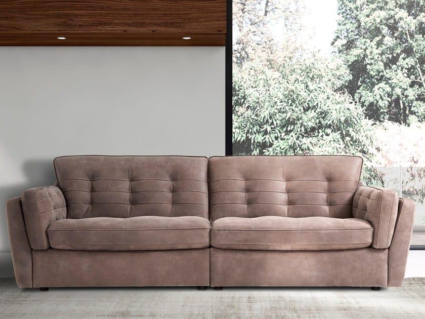 2 seater fabric sofa IRIS by Max Divani