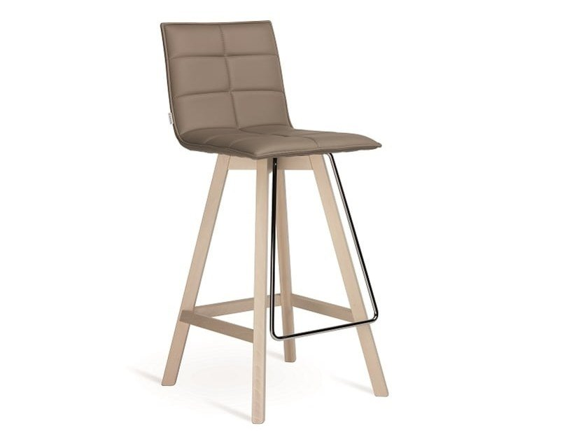 High upholstered stool IRIS | Stool by Natisa