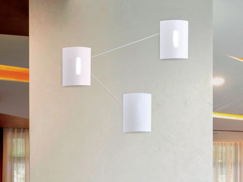 LED wall light IRON by Cattaneo