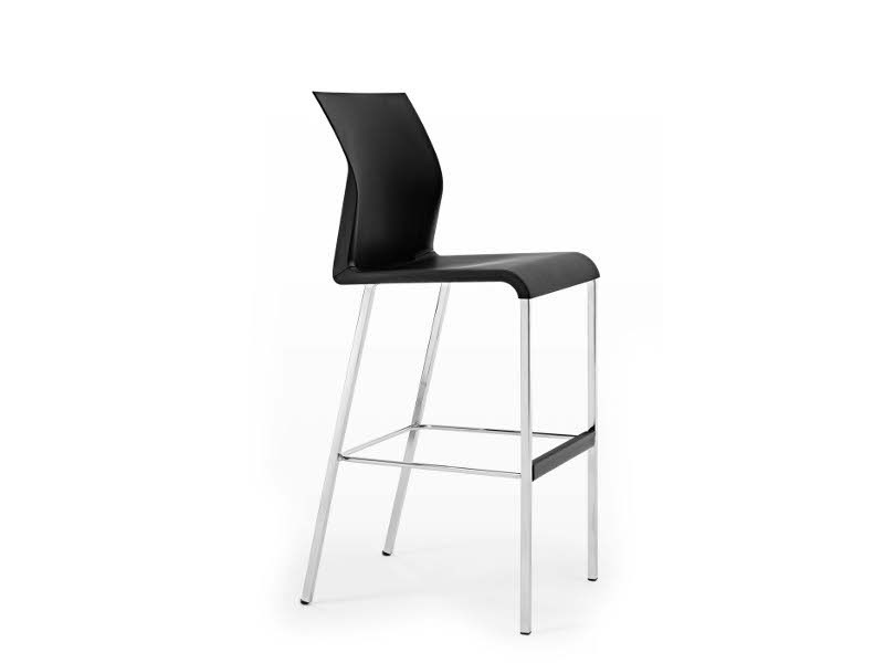 Polypropylene chair with footrest IRON G0946 by Segis