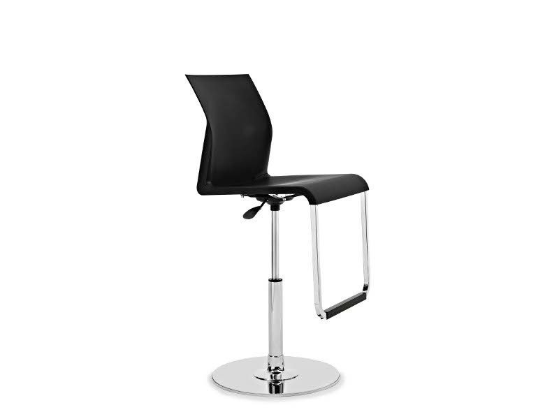 Height-adjustable chair with footrest IRON G0949 by Segis