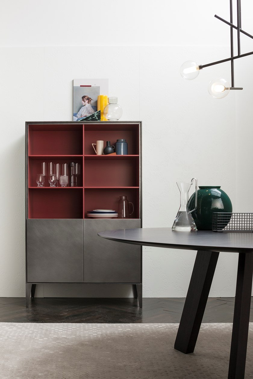 Highboard with doors ATENEO | Highboard by Capo d'Opera