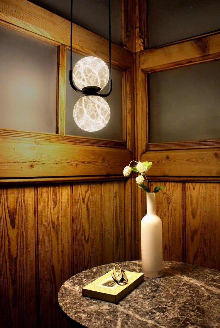 In Sospensione Alma A Led Light Alabastro TribecaLampada CxhrtBsQd