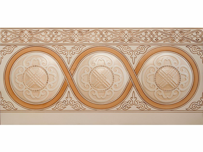 MDF wall tiles Wall units in Kazakh Style by ADELFI Luxury