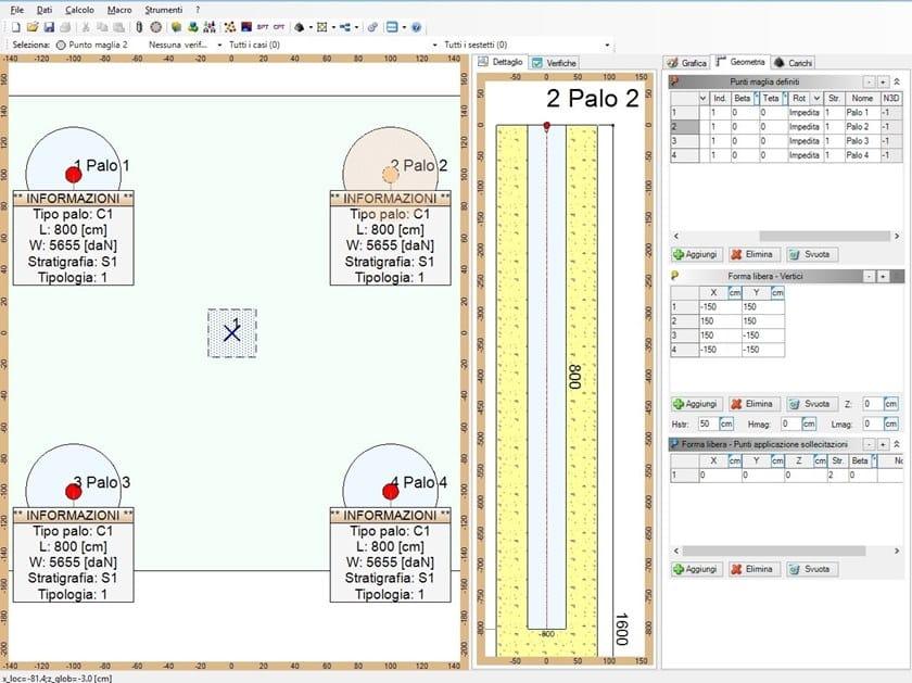 IS PALIFICATE Software d'eccellenza per le fondazioni profonde.