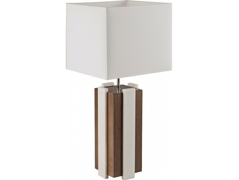 Wooden table lamp ISALO by Flam & Luce