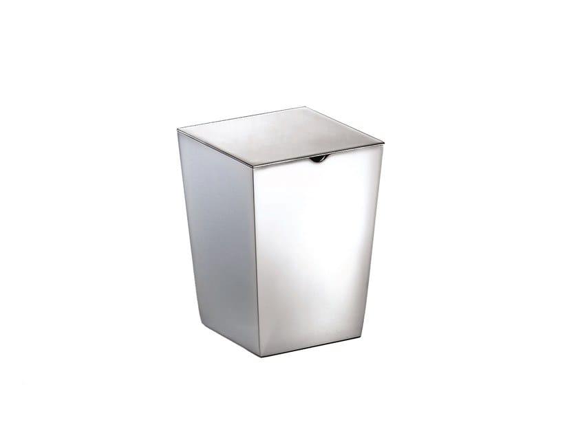 Chromed brass storage box ISIDE 377501002 | Storage box by pomd'or