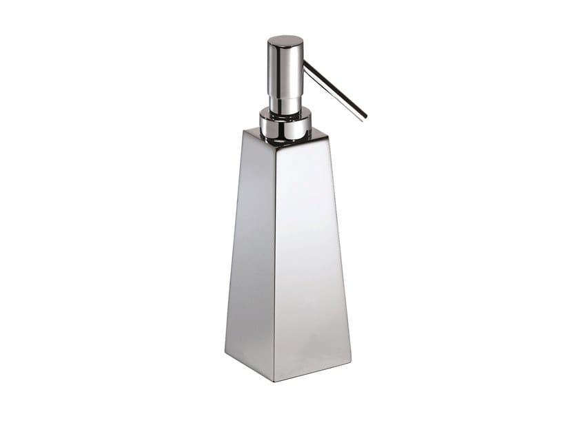 Chromed brass liquid soap dispenser ISIDE 377831002 | Liquid soap dispenser by pomd'or