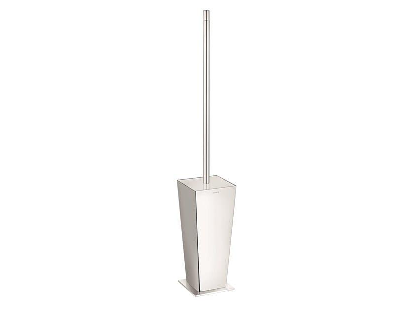 Chromed brass toilet brush ISIDE 379050002 | Toilet brush by pomd'or